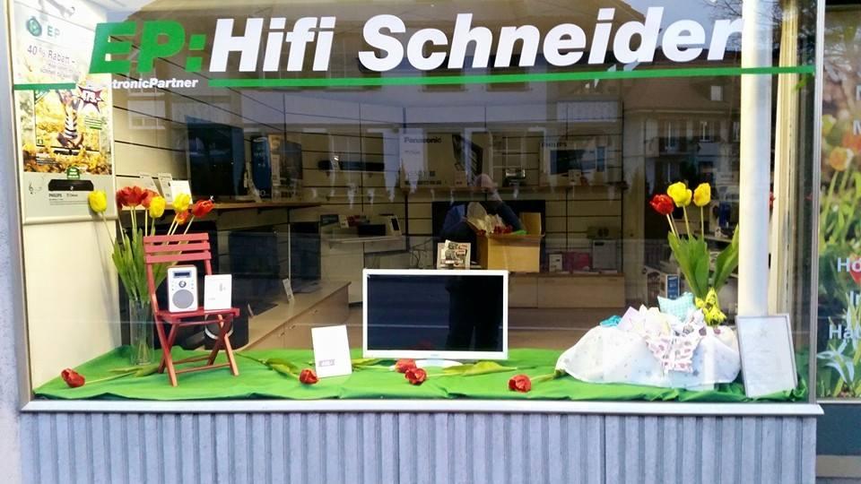 Hifi und Sound Schneider - das Geschäft